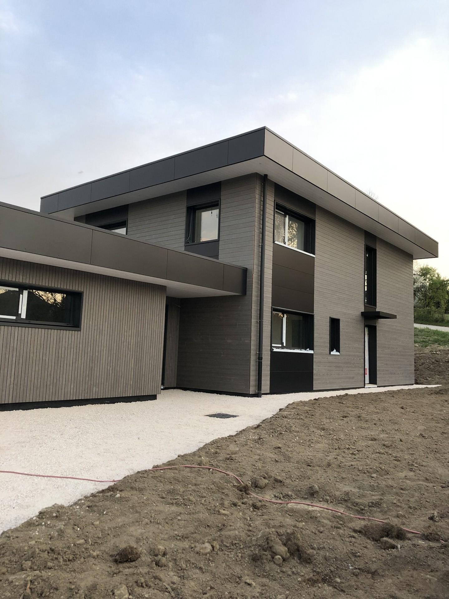 Maison ossature bois 150 m2