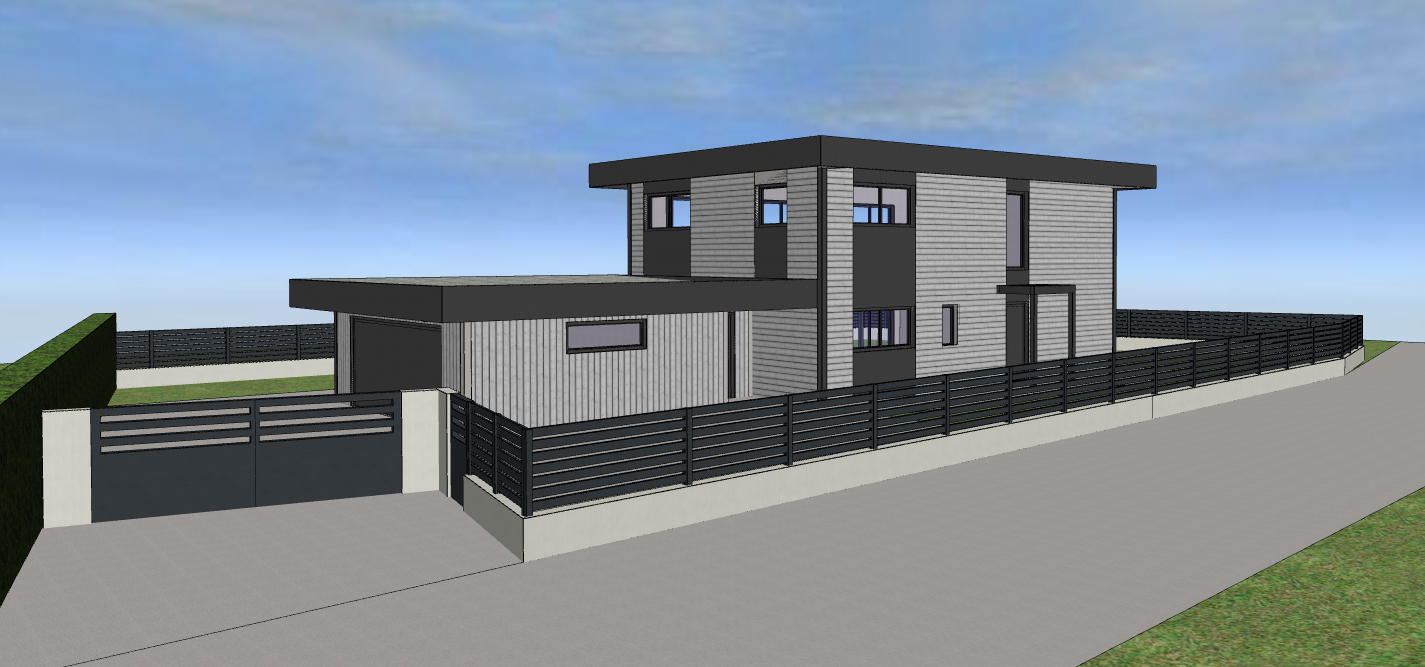 Maison ossature bois 150m²