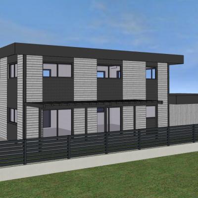 Maison ossature bois 150 m²
